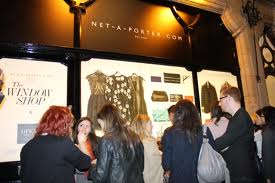 Net-a-porter physical store