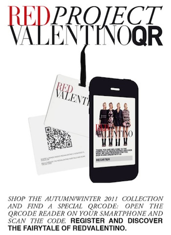 Fashion Goes Mobile with QR Codes