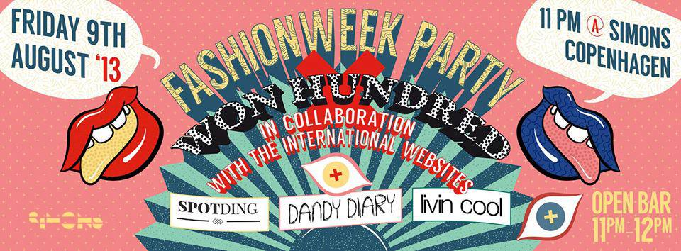 Dandy Diary Fashion Week Party