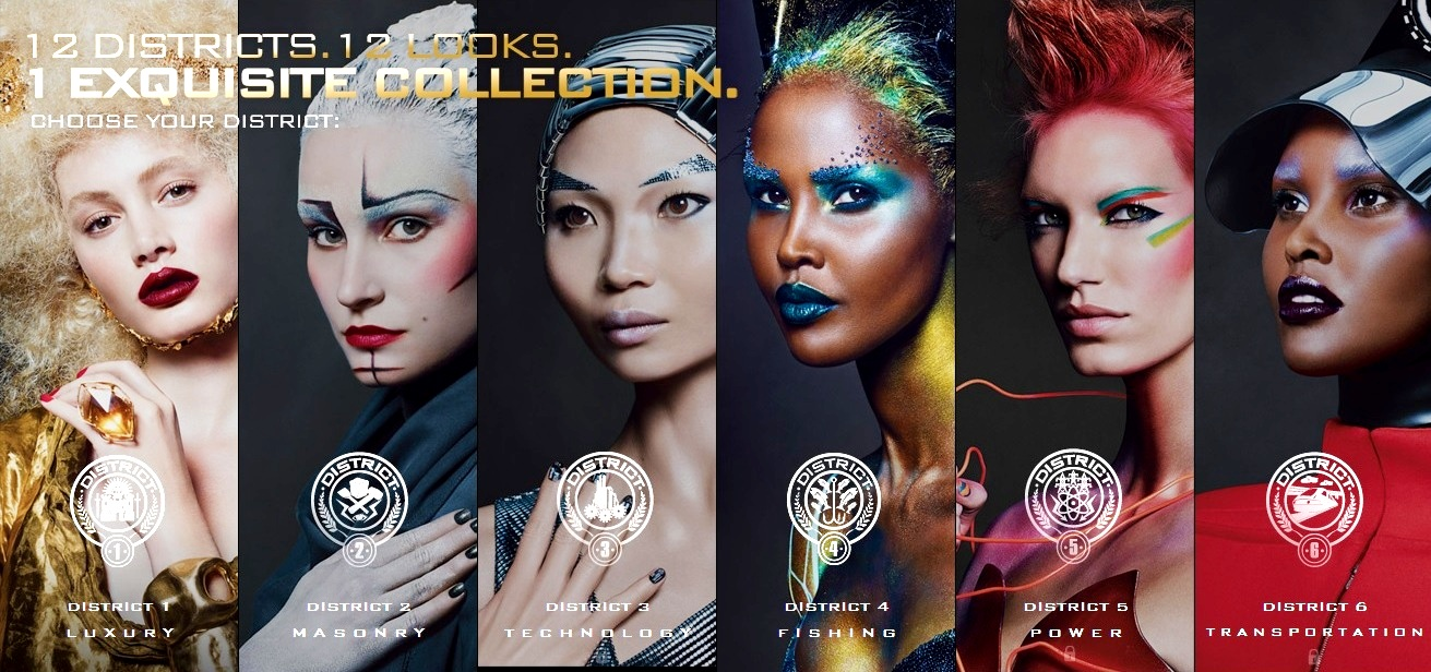 Hunger Games Themed Make Up Campaing With CoverGirl