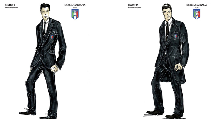 Dolce and Gabbana Dress Up The Italian Team for The World Cup