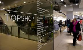 TOPSHOP store, Oxford, London