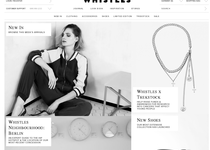 Whistles official ecommerce