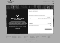 American Eagle Outfitters official ecommerce