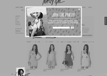 Nasty Gal official ecommerce