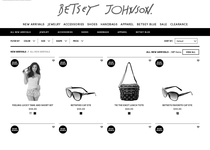 Betsey Johnson official ecommerce