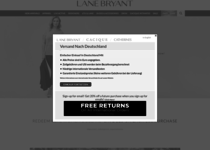 Lane Bryant official ecommerce