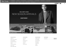 Paul Smith official ecommerce