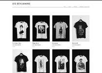 Les Benjamins official ecommerce