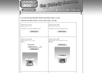 Udderly Smooth official ecommerce