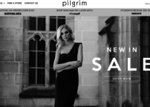 Pilgrim Clothing official ecommerce