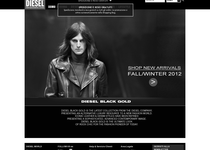 Diesel Black Gold official ecommerce