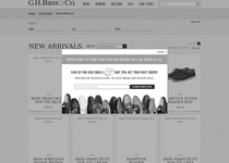 G.H. Bass & Co. official ecommerce