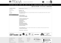 Macy's official ecommerce