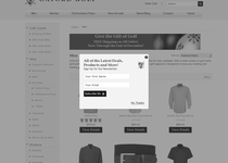 Oxford Golf official ecommerce