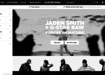 G-Star Raw official ecommerce