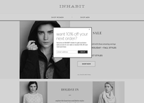 Inhabit official ecommerce