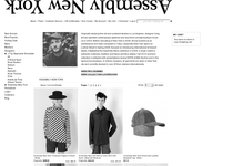 Assembly New York official ecommerce