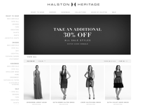 Halston official ecommerce