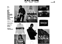 A.P.C. official ecommerce