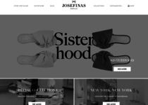 Josefinas official ecommerce