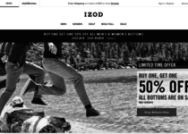 Izod official ecommerce