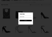 Tom Ford official ecommerce