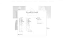 Balenciaga official ecommerce