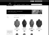 Arc'teryx official ecommerce