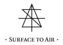 Normal surface to air