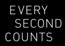 Normal every second counts