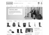 Hunter official website