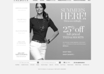 Talbots official website