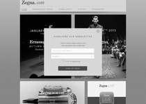 Z Zegna official website