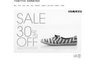 Tabitha Simmons official website