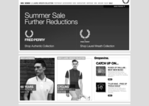 Fred Perry official website