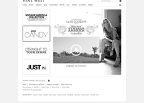 Nine West official website