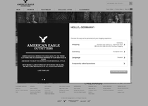 American Eagle Outfitters official website