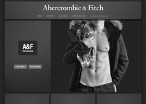 Abercrombie & Fitch official website
