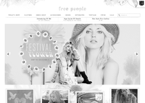 Free People official website