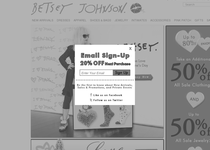 Betsey Johnson official website