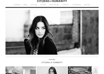 Citizens of Humanity official website