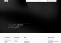 Montblanc official website