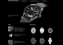 Blancpain official website