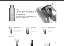 Clarins official website