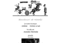 Hermès official website