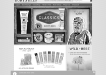 Burt's Bees official website