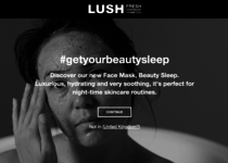 Lush official website