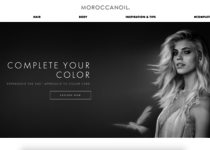 Moroccanoil official website