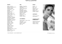 Oriflame official website